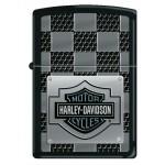 Zippo Harley Davidson - Logo plaque métal