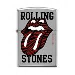Zippo Rolling Stones - Langue noire et rouge