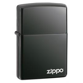 Zippo black ice - Avec logo
