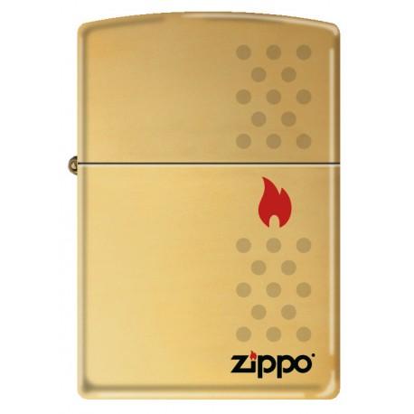 Zippo doré logo Zippo