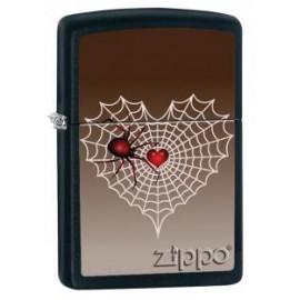 Zippo Love Spider in Web