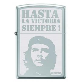 Zippo El Che Hasta la Victoria Silver