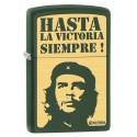 Zippo El Che Hasta la Victoria Green