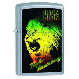 Zippo Bob Marley Iron Lion