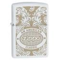 Zippo An American Classic - Blanc