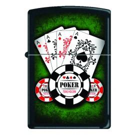 Zippo As Poker