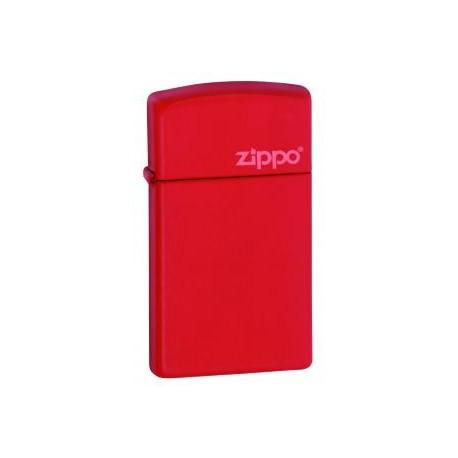 Zippo Slim Rouge