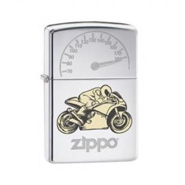 Zippo Moto de course avec compteur