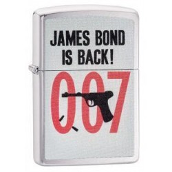 Zippo James Bond is back