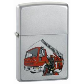 Zippo Camion de Pompiers Vue Latérale