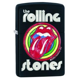 Zippo The Rolling Stones - Langue sur cible de couleurs