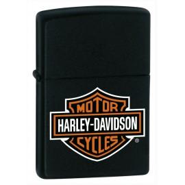 Zippo Harley Davidson - Couleur Noir Mat