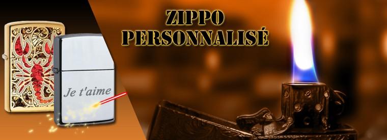 Le zippo personnalisé, le briquet qui fait plaisir !